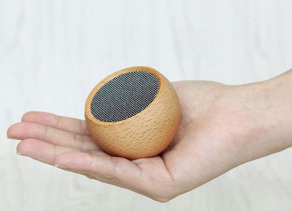 Funky Tumbler Mini Bluetooth Speaker (MAPLE WOOD)