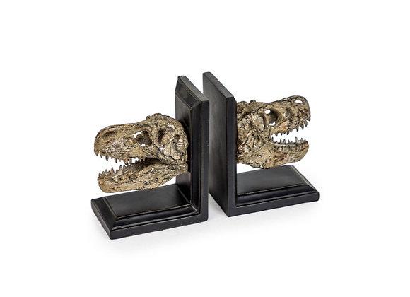 Fantastic Dinosaur Head Bookends