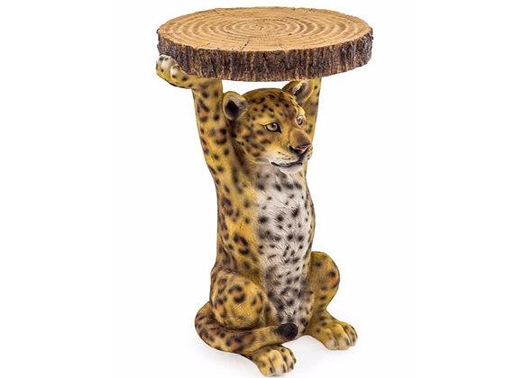 Leonard The Leopard Side Table