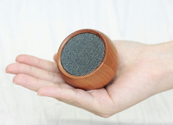 Funky Tumbler Mini Bluetooth Speaker (CHERRY WOOD)