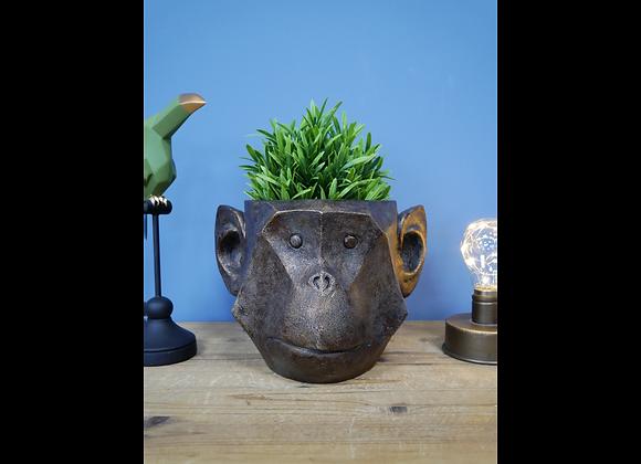 Cute Monkey Planter   Plant Pot
