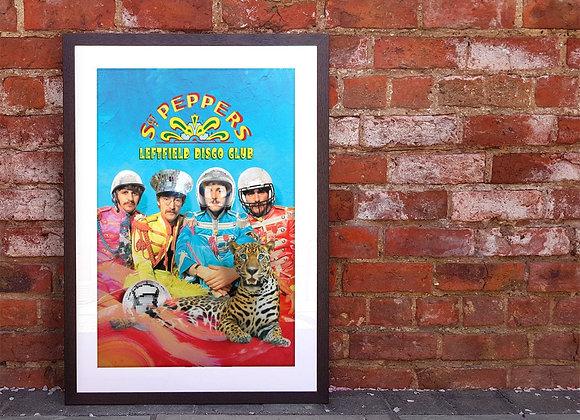 Fabulous Sgt P's Leftfield Disco Club Print