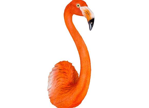 Large Flamingo Wall Head