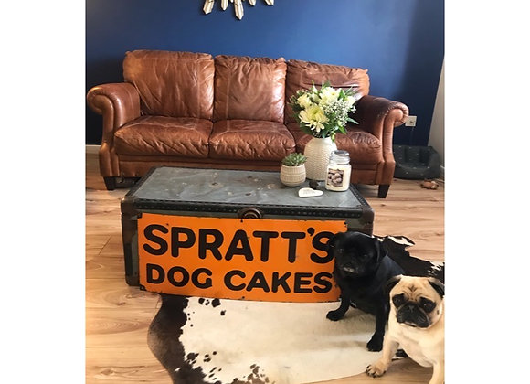 Vintage Enamel Spratt's Sign Late 20s/30s