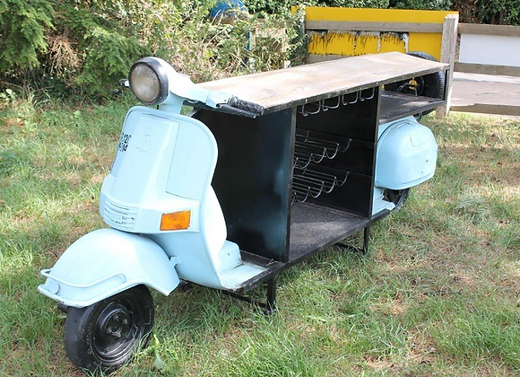 Upcycled Scooter Bar