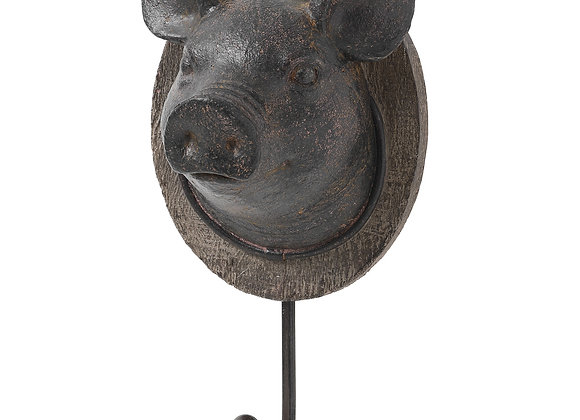 Quirky Pig Coat Hook