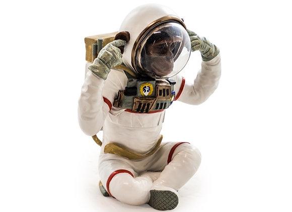 Fun Hear No Evil Chimp Astronaut Figure