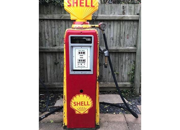 Vintage Avery Hardoll Petrol Pump