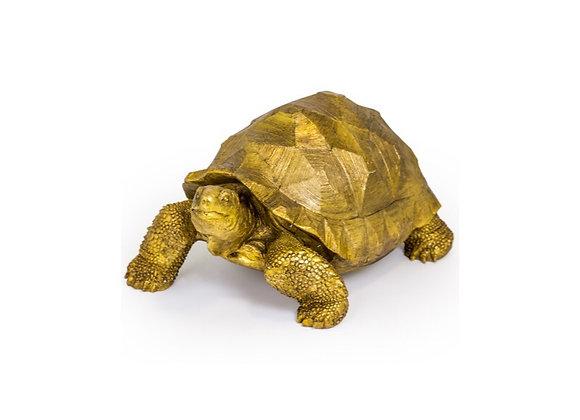 Extra Large Tortoise Figure (Gold)