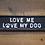 "Thumbnail: Cast Iron Humour ""Love my Dog"" Sign"