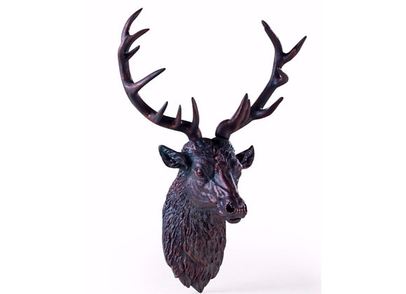 Stunning Large Stag Head Wall Decoration