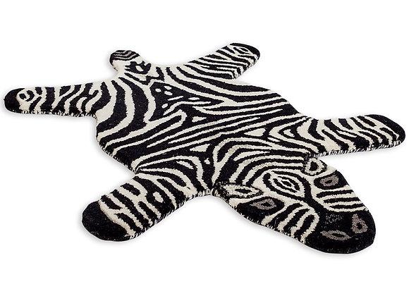 Funky Hand Tufted Zebra Woollen Rug