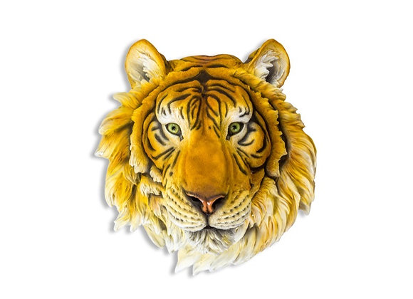 Funky Large Tiger Head Wall Decoration