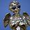 "Thumbnail: Quirky Gold Effect ""Too Cool"" Cherub Figure Ornament"