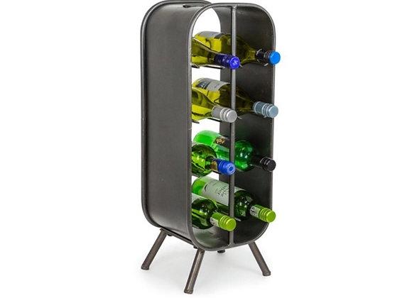 8 Bottle Metal Wine Rack