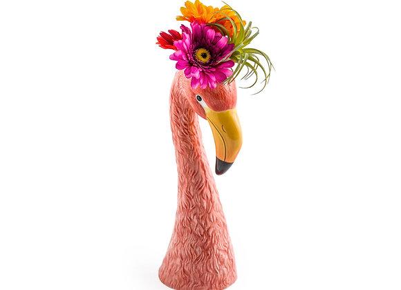 Funky Large Flamingo Vase