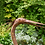 Thumbnail: Rustic Standing Heron Outdoor Ornament (Small)