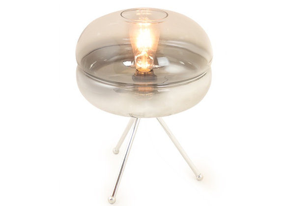 Quirky Chrome Tripod Table Lamp