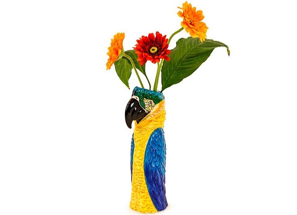 Large Macaw / Parrot Vase