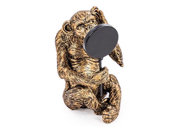 Vain Bronze Effect Monkey
