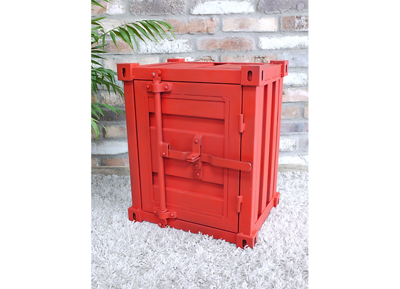 Quirky Shipping Container Storage Box (RED)