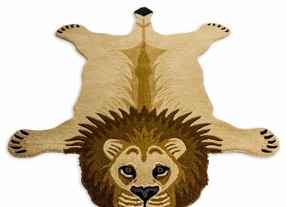 Quirky Tufted Small Leo Lion Woollen Rug