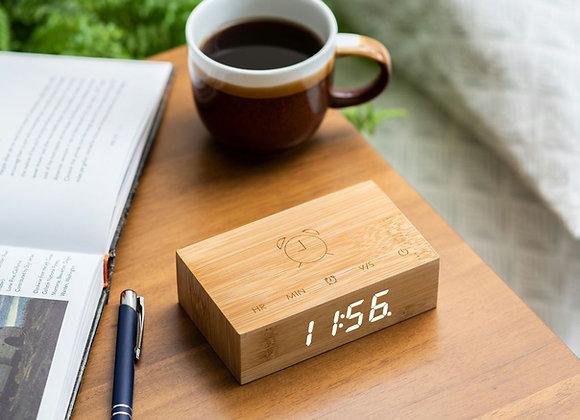 Funky Flip Click Clock (Bamboo)