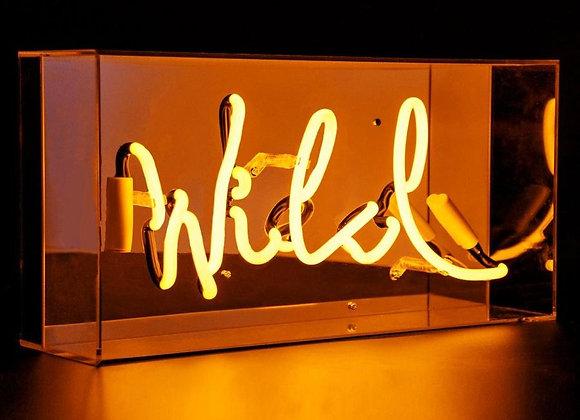 Neon Acrylic Box Light (Wild)