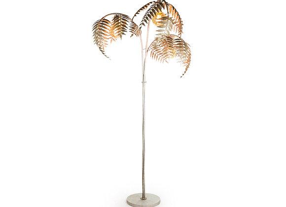 Stunning Silver Palm Tree Floor Lamp