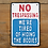 Thumbnail: Cast Iron Trespassing Humour Sign
