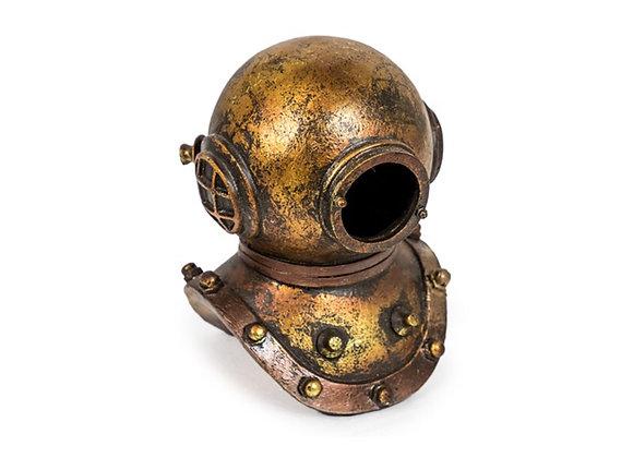 Rustic Diver's Helmet Ornament