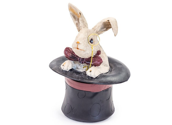 Rabbit Top Hat Storage Box