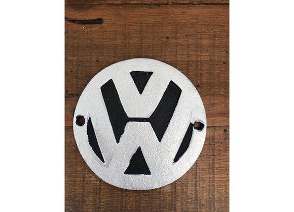 Cast Iron VW Plaque