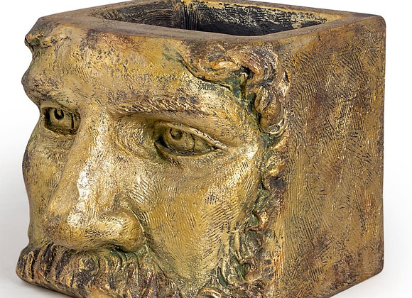 Funky Large Gold Classical Face Planter