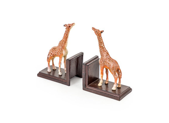 Giraffe Cast Iron Bookends
