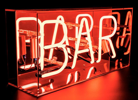 Neon Acrylic Box Light (Bar)
