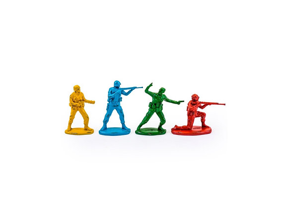 Set of 4 Classic Toy Soldier Figures