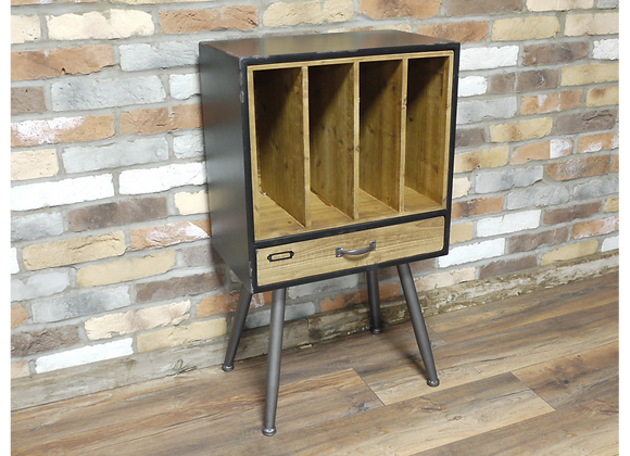 Industrial Style Filing Cabinet Storage