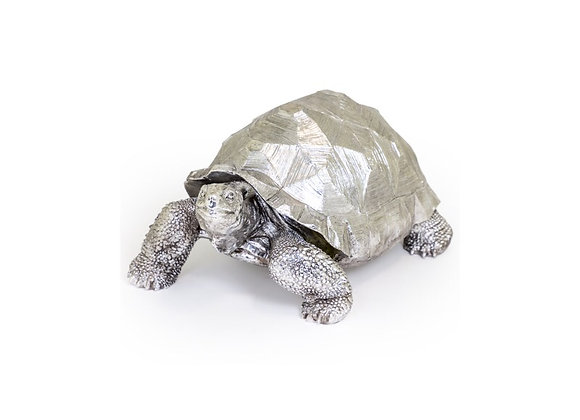 Extra Large Tortoise Figure (Silver)