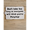 Thumbnail: Cast Iron Bathroom Humour Sign