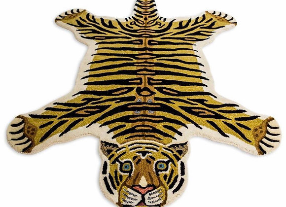 Quirky Tufted Toby Tiger Rug