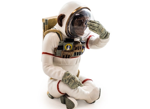 Funky See No Evil Astronaut Chimp Figure