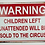 Thumbnail: Unattended Children Humour Sign