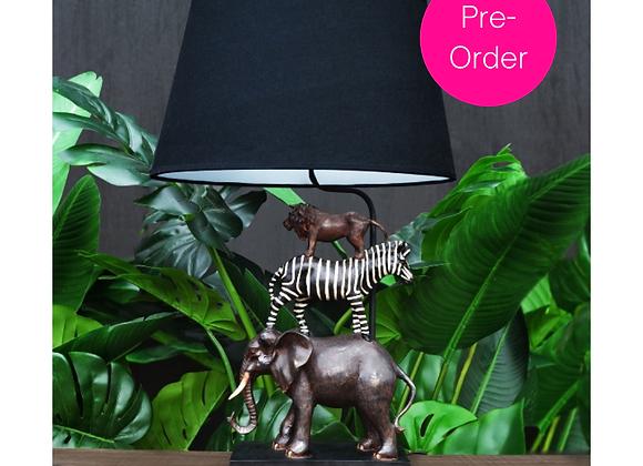 Funky Safari Animal Table Lamp