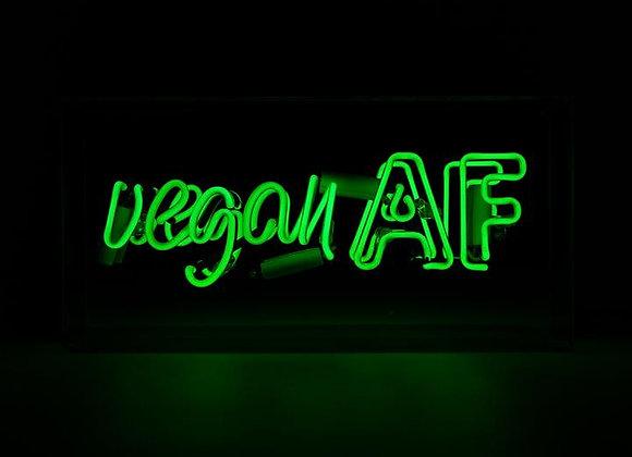 Neon Acrylic Box Light (Vegan AF)