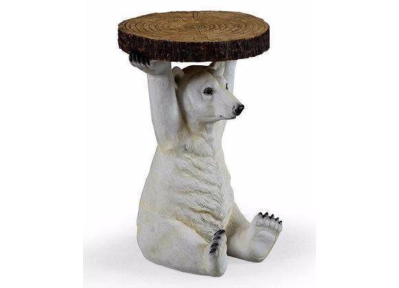 Funky Polar Bear Side Table