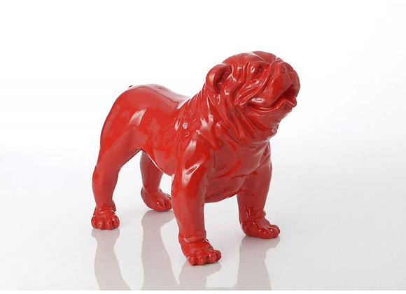 Larger Than Life Red Bulldog