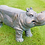 Thumbnail: Quirky Rustic Hippo Bench