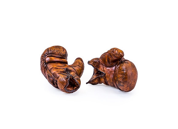 Pair Of Leather Effect Boxing Gloves Ornament