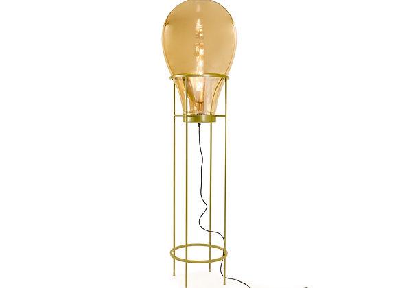 Stunning Large Edison Lamp on Gold Frame